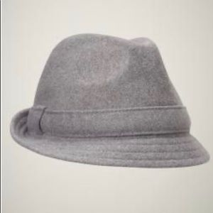 NWT Gap Kids Boys Gray Fedora Hat - Sz S/M